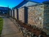 Segmental block retaining wall