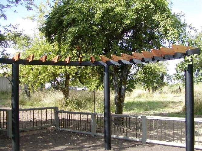 arbors pergolas landscaping waterfalls irrigation salem oregon farwest gardens