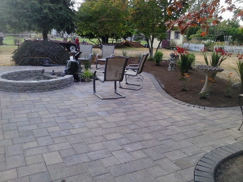 Stayton patio
