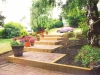 Brick offset steps