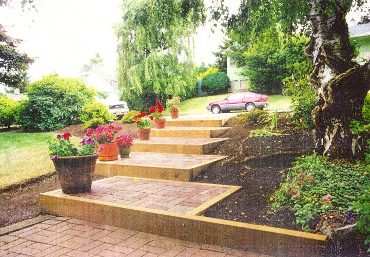 Brick offset steps