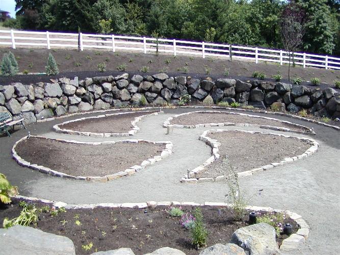Indian crop circle garden