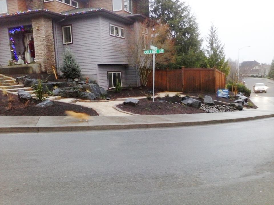 Custom Boulder Placement