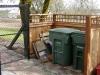 Garbage enclosure (Back)