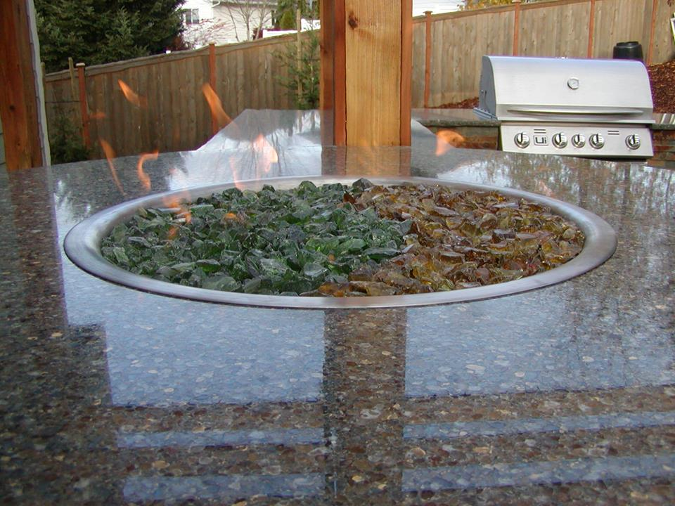Outdoor Kitchen Counter
