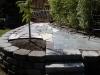 Recycled flagstone, slate, & brick patio