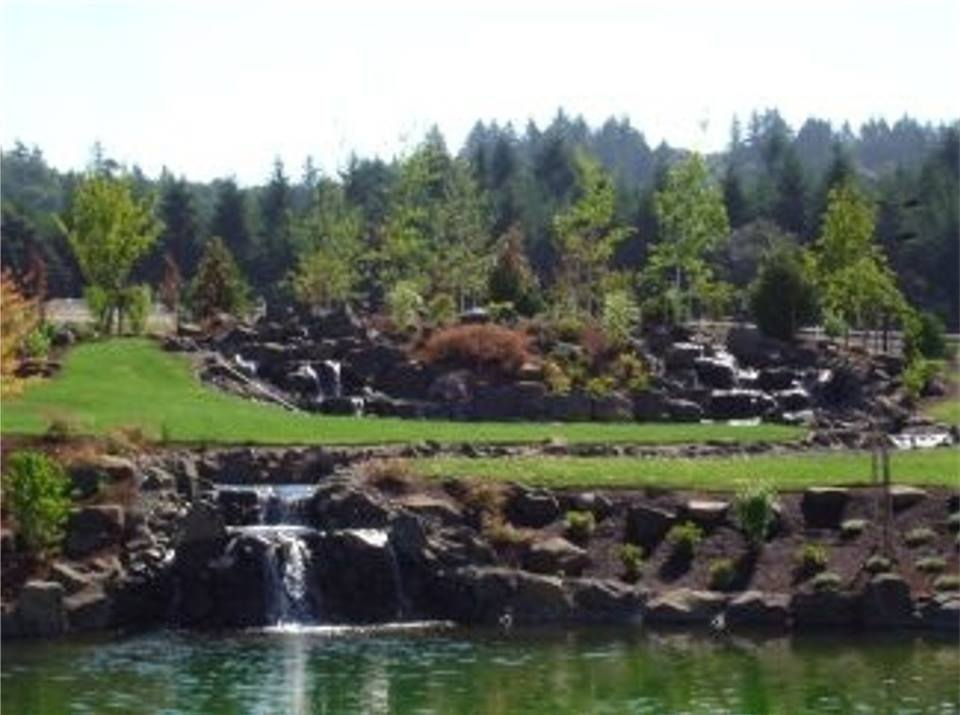 Waterfalls and Ponds