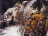 Large single drop falls