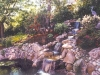 Multiple single drop falls & pond